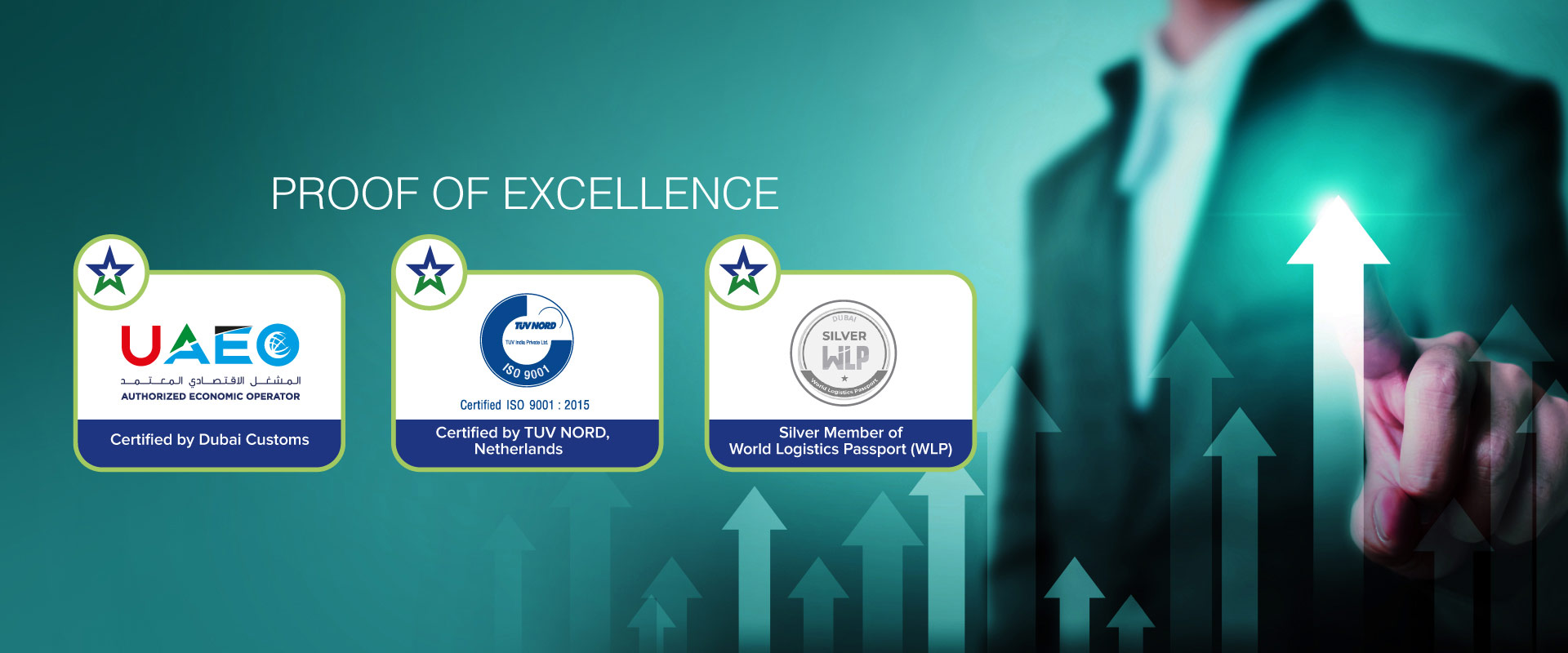 Globelink West Star- AEO Certified by Dubai Customs